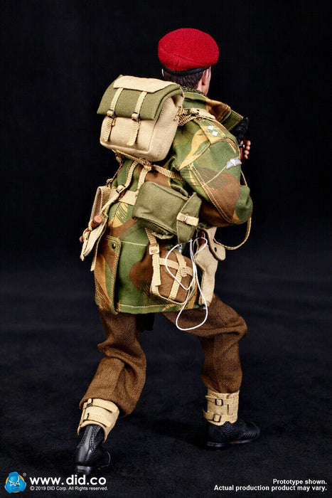 "In-Stock 1/6 Scale DID WWII British Airborne ""Red Devil"" Commander Figure K80135"