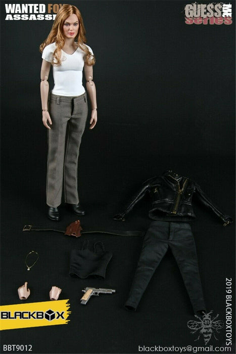 "Pre-order 1/6 BLACKBOX GUESS ME SERIES ""WANTED-FOX ASSASSIN"""