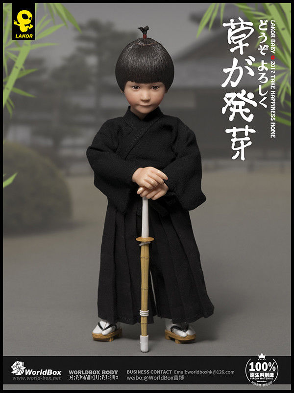 1/6 Scale WorldBox Lakor Baby Kendo Action Figure