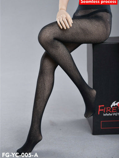 In-stock 1/6 Fire Girl FG-YC-005 Stockings Seamless For TBleague