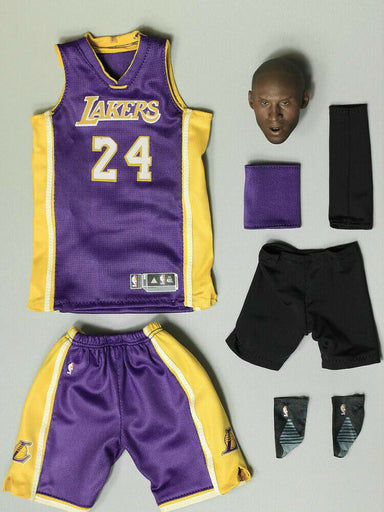 In-stock 1/6 Scale Kobe Basketball No. 24 Season 2015/16 Custom Kit JP#4