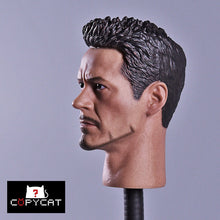 copycat 1/6 MK46 Tony Star Long Neck Head Sculpt Iron Man 3 in stock