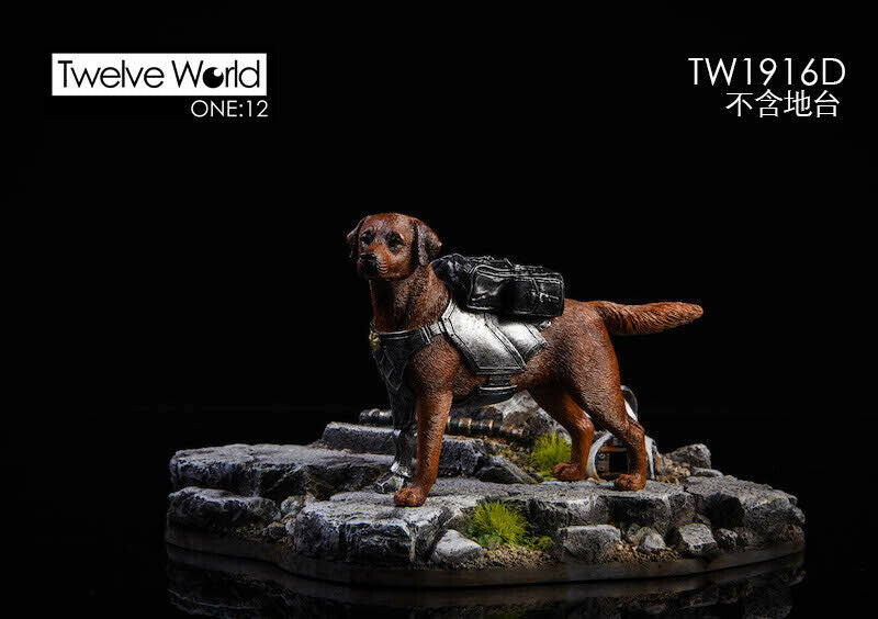 Pre-order 1/12 TWTOYS The ruins of the battlefield & Mechanical dog
