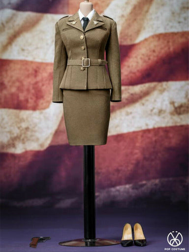 Pre-order 1/6 POPTOYS X31 WWII US Army Female Agent Uniform