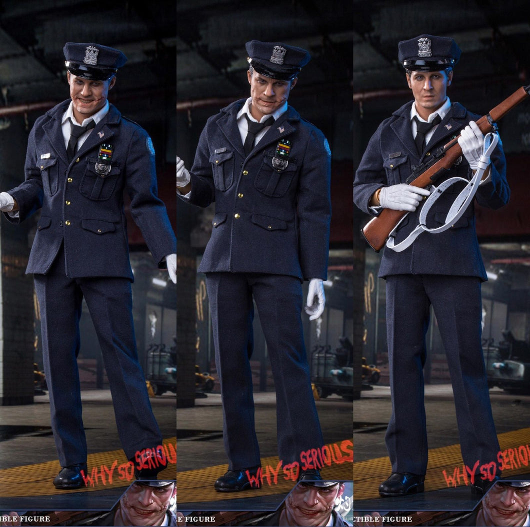 In Stock 1 6 Scale Burning Soul Bsf002 Police Joker Action Figure 3