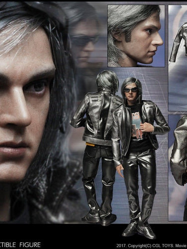 In-Stock 1/6 Scale CGL Toys MF09 Quicksilver Apocalypse 12in Action Figure