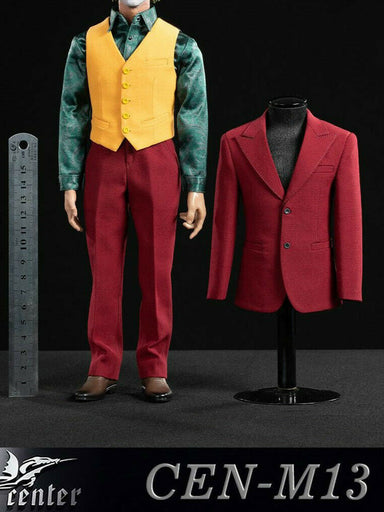 Pre-order 1/6 Toy center CEN-M13 Joker Red Suit Clothes