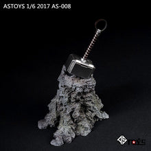 1/6 Scale ASTOYS AS008 Thor Hammer & Stand Onesixth Diorama Scene Prop