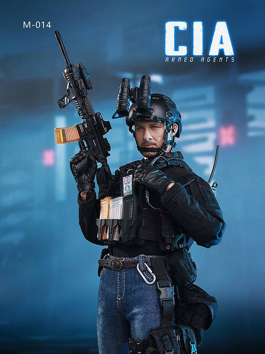 In-Stock 1/6 MINI TIMES TOYS MT - M014 CIA Armed Agent