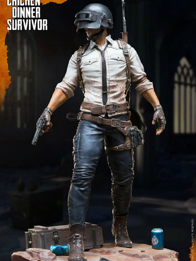 In-stock 33 cm Statue Chicken Dinner Survivor EKUAZ STUDIO EKS04