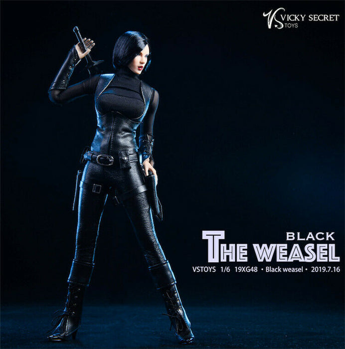 Pre-order 1/6 VSTOYS Black Weasel Female Assasin Custom Kit 19XG48 JP#4