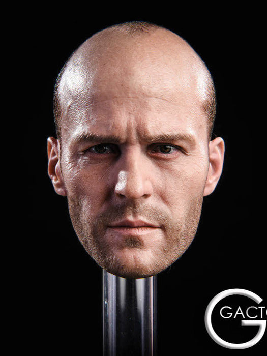 In-Stock 1/6 Scale GACTOYS Jason Statham Head HW/O Neck GC023 For