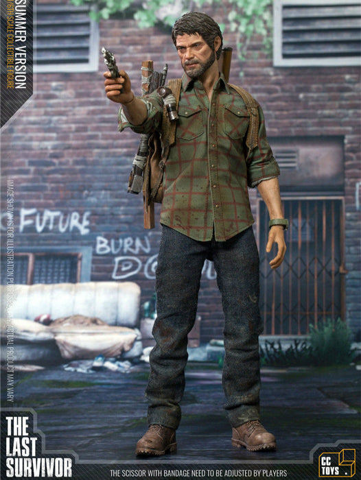 "In-stock 1/6 Scale CC Toys ""Joe"" The Last Survivor 12in Action Figure"