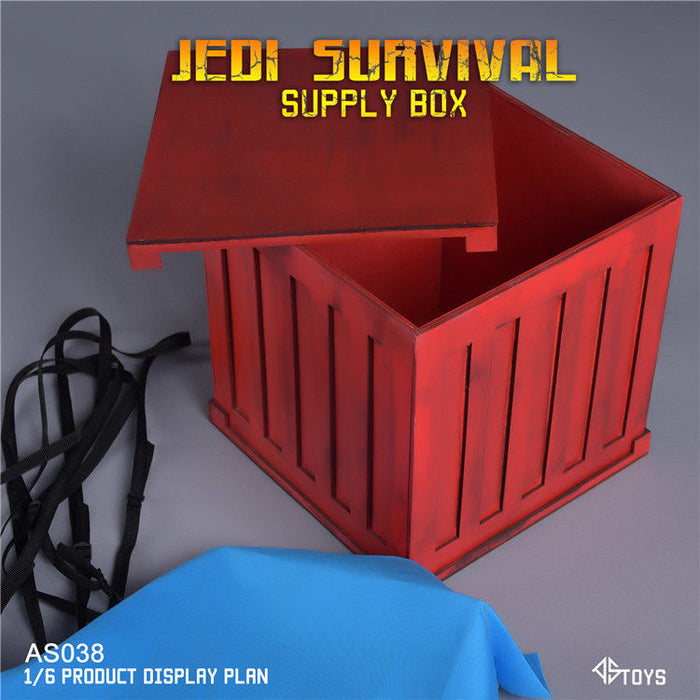 Pre-order 1/6 Scale ASTOYS AS038 PUBG Supply Box