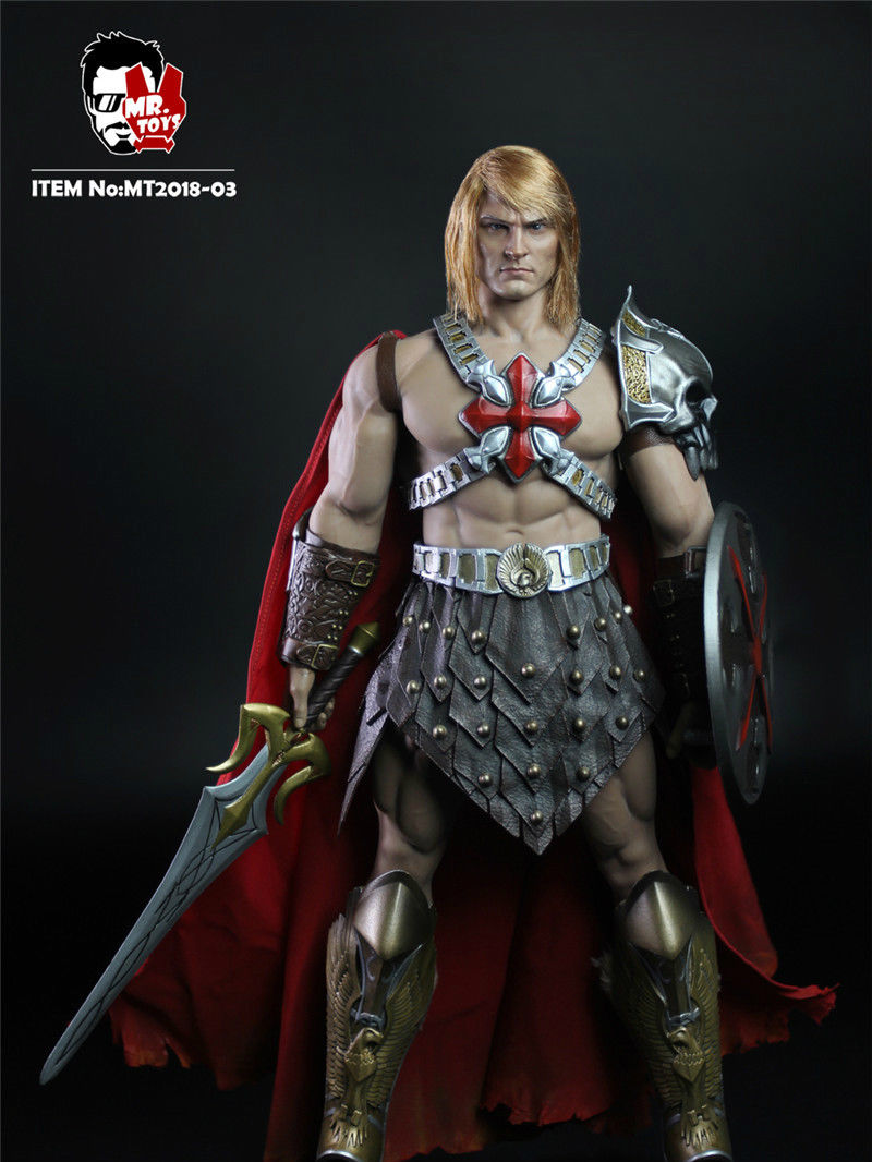 MR TOYS MT2018-03 MASTERS OF THE UNIVERSE HE-MAN SET 1//6 Preorder