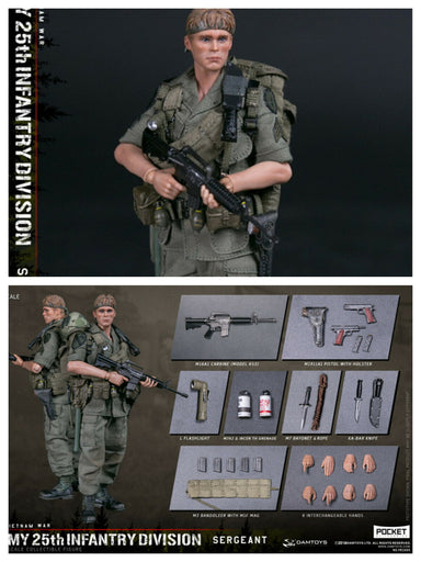 Pre-order 1/12 DAMTOYS Infantry Division Private SERGEANT PES005 Action Figure