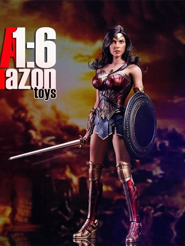 1/6 Scale Wonder Diana Action Figure Full Set Custom Set Amazon Toys