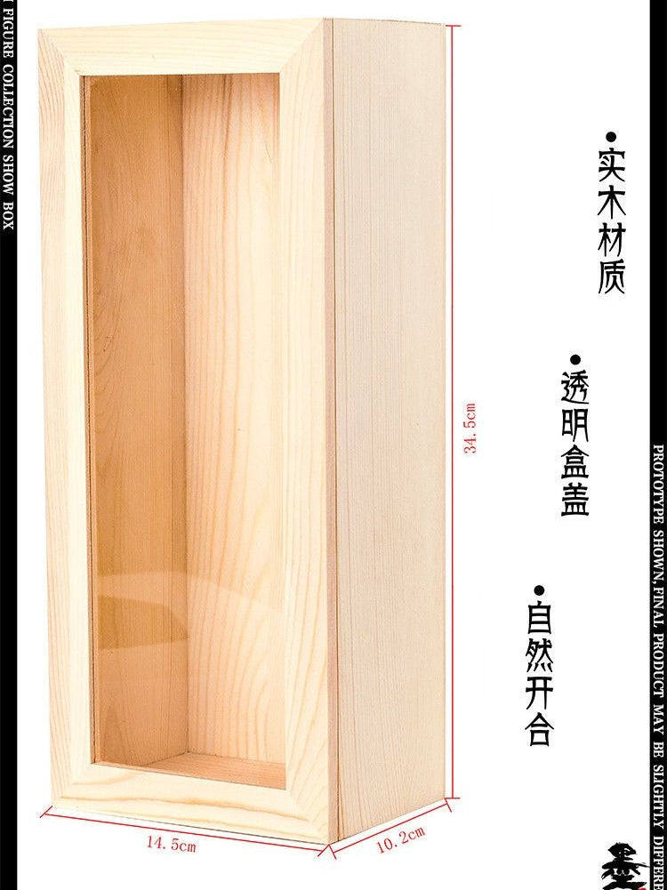 1/6 Wooden Display Organise Box For Hign-end Collectibles 12'' Figures