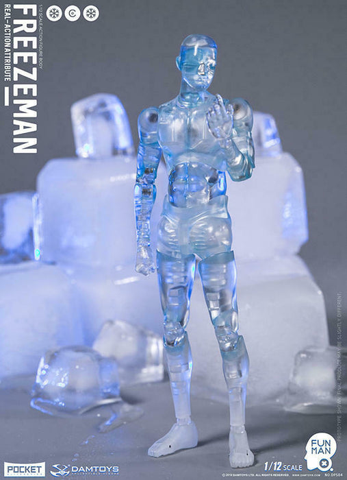 In-stock 1/12 DAMTOYS DPS03 JELLY CANDYMAN DPS04 HARD CANDYMAN DPS05 FREEZEMAN