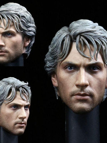 1/6 Head Sculpt For Quicksilver Age Of Ultron Avengers Action Figure