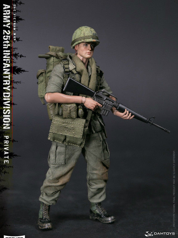 pre order damtoys 1 12 pocket army 25th infantry division. Black Bedroom Furniture Sets. Home Design Ideas