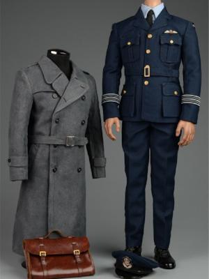 1/6 VORTOYS V1008 WWII Allies Flying Officer Clothes Set