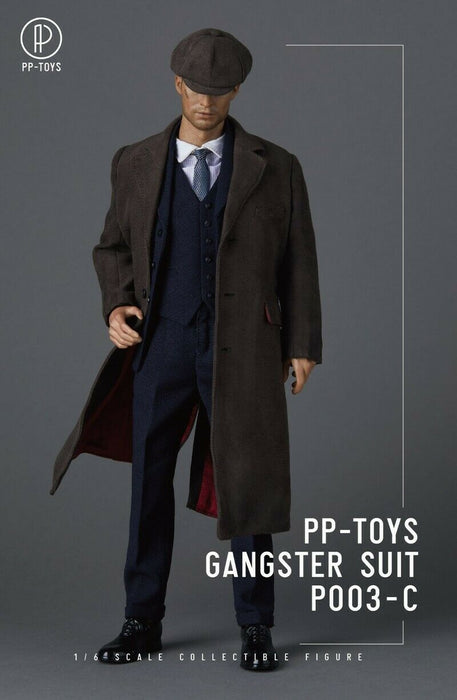 Pre-order 1/6 PP-TOYS P003 Gangster WWII British Vintage Suit For 12'' Figure