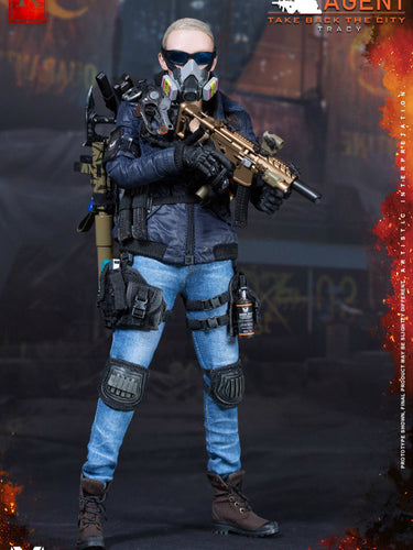 VTS Toys 1/6 (VM-019) THE DARKZONE AGENT - TRACY