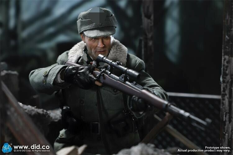 In-stock 1/6 DID D80138 WWII 1942 Major Erwin Konig 10th Anniversary Ver.