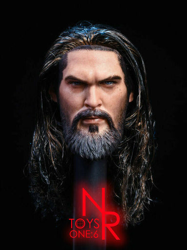 BY-P4 Head Sculpt /& Spear King Of The Sea Pre-order 1//6 BY-ART BY-T3