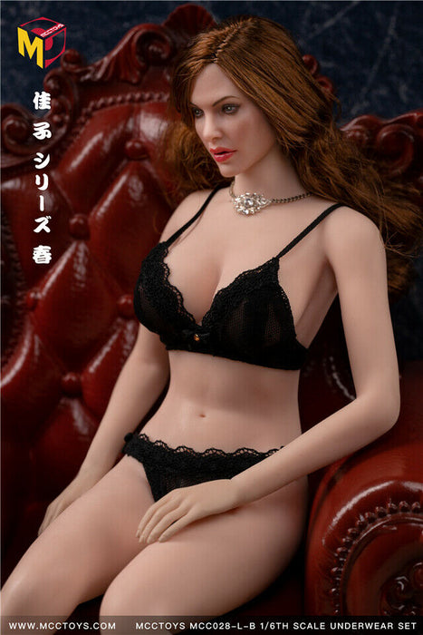 In-stock 1/6 MCCTOYS MCC028 High-end Exquisite Lingerie camry series (No figure)