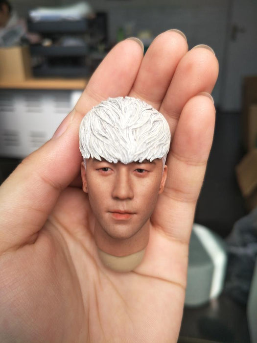 "bigbang 1//6 Scale Head Sculpt  The Good For 12/"" Action Figure Hot Toys Body B"
