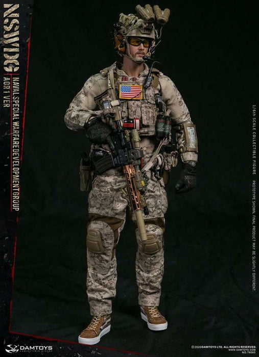 In-stock 1/6 DAMTOYS NSWDG NAVAL SPECIAL WARFARE AOR1 78065