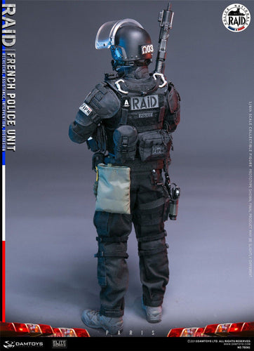 Pre-order 1/6 DAMTOYS 78061 FRENCH POLICE UNIT RAID IN PARIS  Action Figure