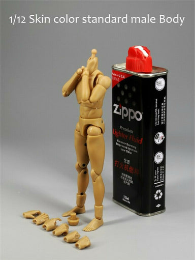 In-stock MCCTOYS 1/12 standard male Body 1.0 (narrow shoulders)