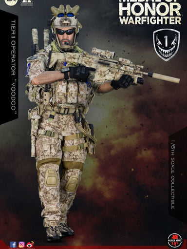 "Pre-order Soldier Story 1/6 Medal Of Honor Navy SEAL Tier One Operator ""Voodoo"""