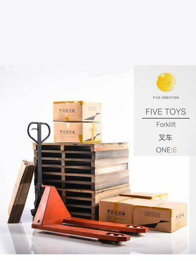Pre-order 1/6 FIVE TOYS F2001 Forklift Scene Set For 12 inch Figures