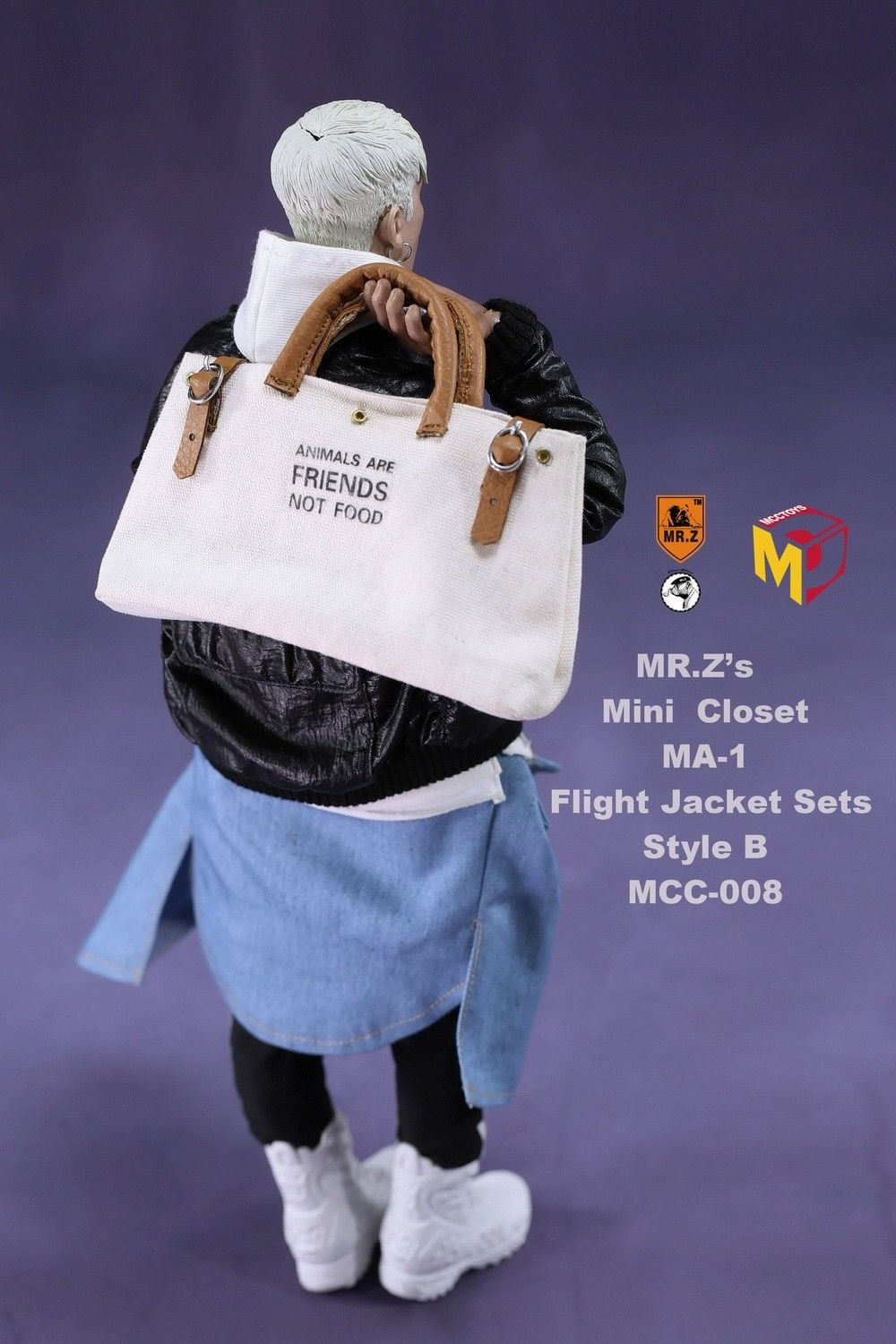 ... Pre Order MCCToys Mr.Zu0027s Mini Closet 1/6 MA 1 Flight ...