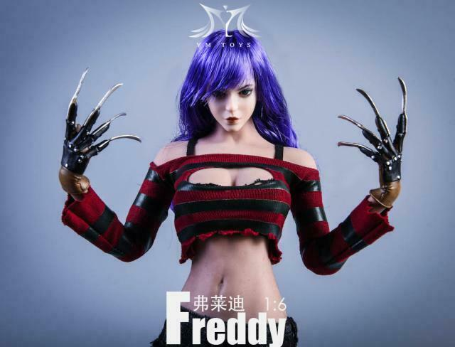 Pre-order 1/6 YMTOYS Jason & Freddy YMT034 YMT035 Custom Kit
