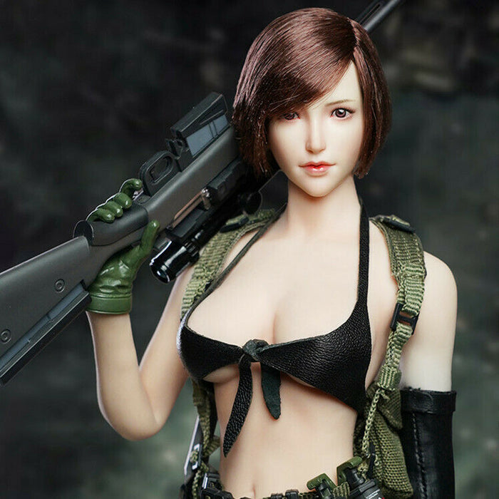 In-Stock 1/6 Scale SUPER DUCK SDH017 Female Head Sculpt H#pale