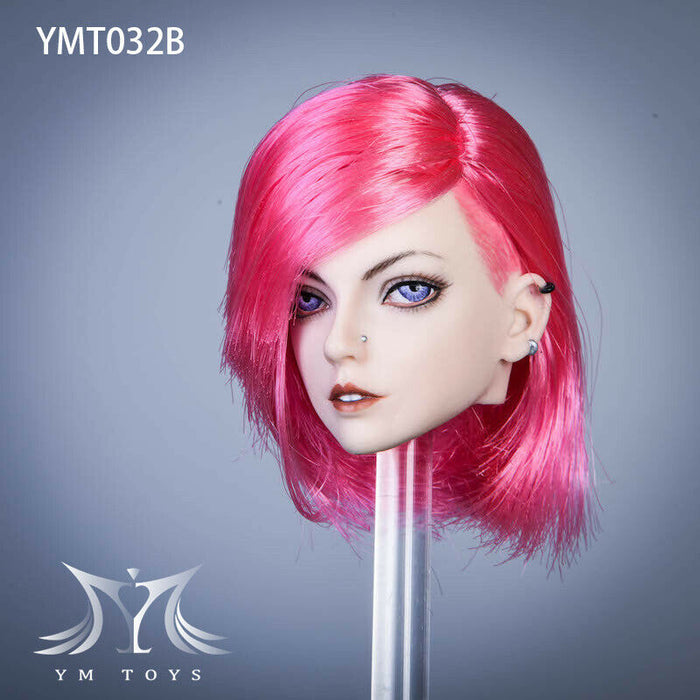 Pre-order 1/6 Scale YMTOYS YMT032 Arthur Female Head Sculpt H#pale