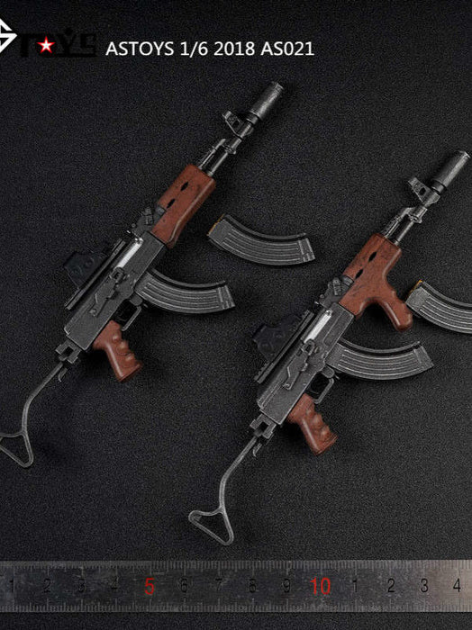 1/6 AK47 AKM ASTOYS AS021 Wooden Texture Ver. Weapon Model