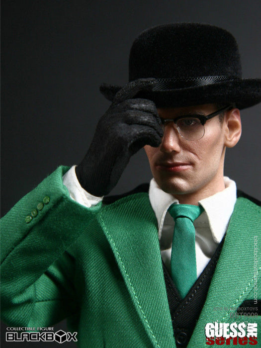 "In-stock BLACKBOX 1/6 Scale GUESS ME SERIES ""The Riddler"" BBT9009"
