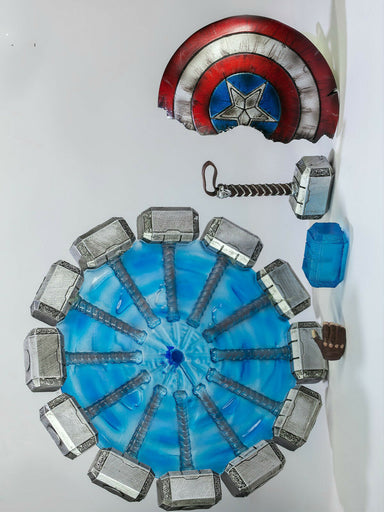 Pre-order 1/12 NOTA Studio Captain America Hammer Shield Kit for Smf & ML