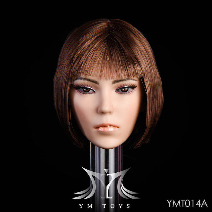 "In-Stock 1/6 Scale YMTOYS YMT014 ""Magic"" Female Head Sculpt H#Suntan"