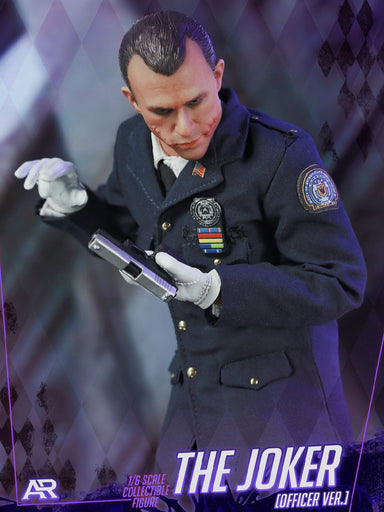 In-Stock ARTOYS AR-003 1/6 Scale Gotham City Bad Cop Joker 12IN Action Figure
