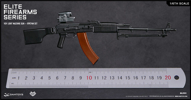 In-Stock 1/6 Scale Damtoys Elite Firearms Series 2 Spetsnaz Assault Rifle – AK74MSet