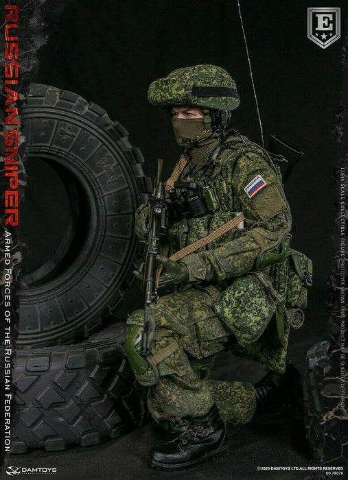 Pre-order 1/6 DAMTOYS RUSSIAN SNIPER ELITE EDITION 78078