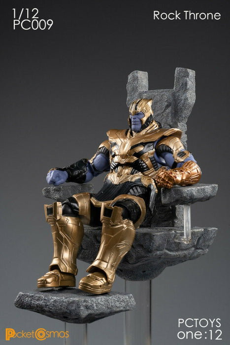 Pre-order 1/12 Scale PCTOYS Rock Throne Scene