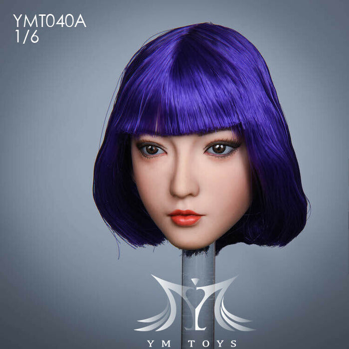YMTOYS 1//6 YMT042A PVC Head Sculpt Fit 12inch Female Phicen TBL Body Toy Presale